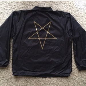 bc8eaf2c3986 Thrasher Jackets   Coats - ⭐️NEW!⭐️Thrasher Pentagram Windbreaker Sz LARGE
